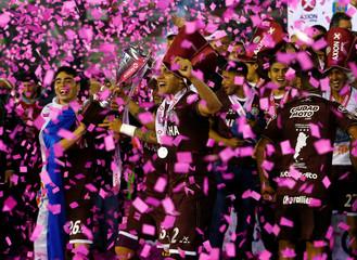 Football Soccer- Argentine First Division Championship- San Lorenzo v Lanus - Antonio Vespucio Liberti stadium, Buenos Aires, Argentina