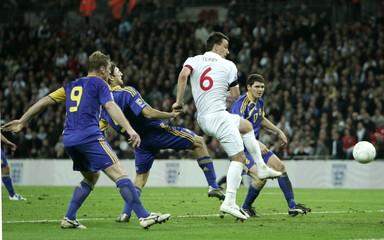 England v Ukraine 2010 World Cup Qualifying European Zone - Group Six