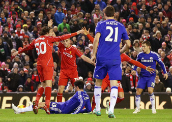 Liverpool v Chelsea - Capital One Cup Semi Final First Leg