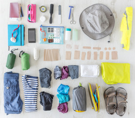 how to pack gear and accessories for Camino de Santiago