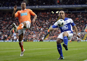 Birmingham City v Blackpool Barclays Premier League