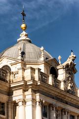 Cupula del palacio real de madrid