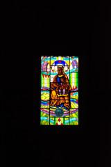 Vidriera santa maria de atocha, catedral