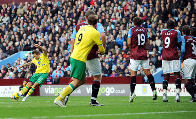 Aston Villa v Norwich City Barclays Premier League
