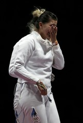 Fencing - Women's Epee Team Quarterfinals