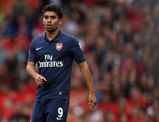 Arsenal's Eduardo Da Silva