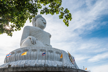 Big Buddha statue in Phuket