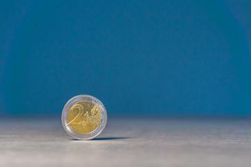 Coins two euros
