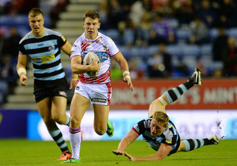 Wigan Warriors v London Broncos - First Utility Super League