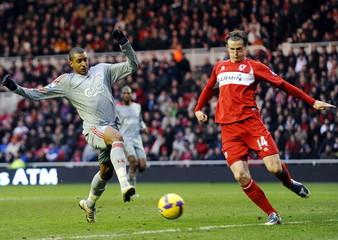 Middlesbrough v Liverpool Barclays Premier League