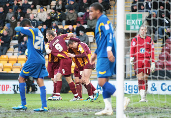 Bradford City v AFC Wimbledon FA Cup Second Round