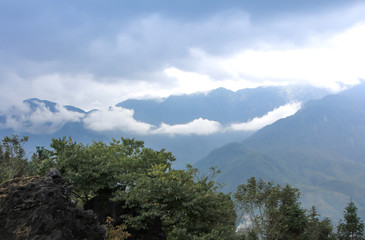 View in hill to genting highland, Malaysia
