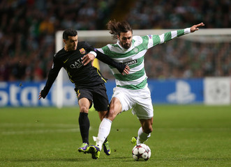 Celtic v FC Barcelona - UEFA Champions League Group Stage Matchday Two Group H