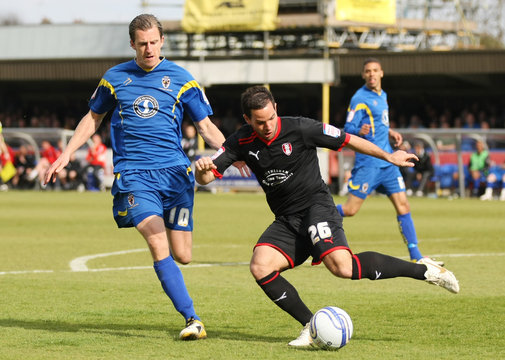 AFC Wimbledon v Rotherham United npower Football League Two