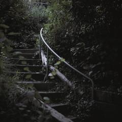 Dark staircase
