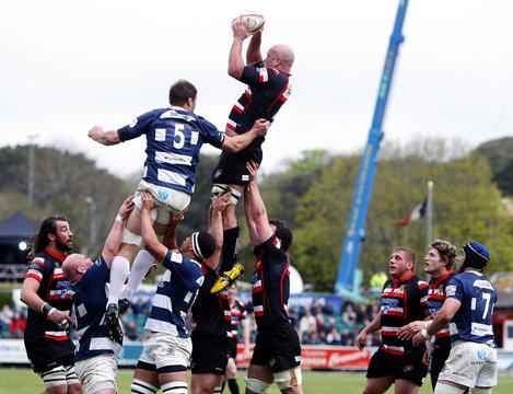 Cornish Pirates v Bristol Rugby RFU Championship Semi Final First Leg