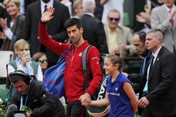 Tennis - French Open Mens Singles Final match - Roland Garros - Novak Djokovic of Serbia vs Andy Murray of Britain