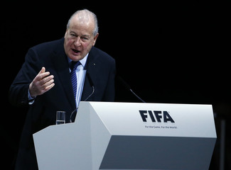 Carrad Chairman of the 2016 Reform Committee addresses the Extraordinary FIFA Congress in Zurich