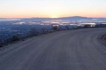 Utah Mountain Dirt Road