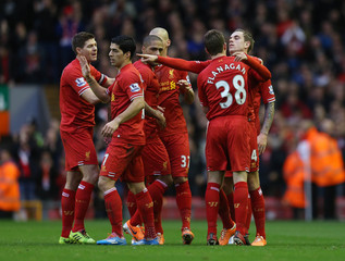 Liverpool v Swansea City - Barclays Premier League