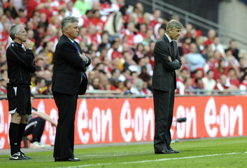 Arsenal manager Arsene Wenger during the match