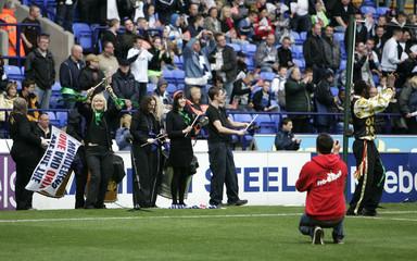 Bolton Wanderers v Hull City Barclays Premier League