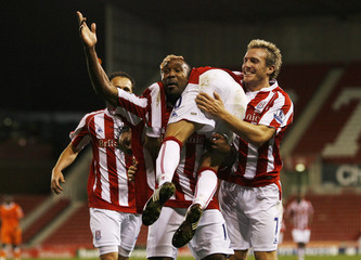 Stoke City v Blackpool Carling Cup Third Round