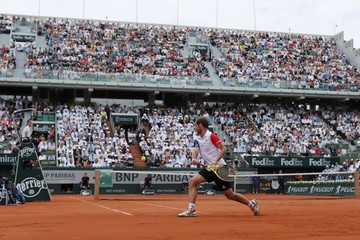 Tennis - French Open - Roland Garros - Nick Kyrgios of Australia vs Richard Gasquet of France