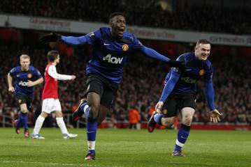 Arsenal v Manchester United Barclays Premier League