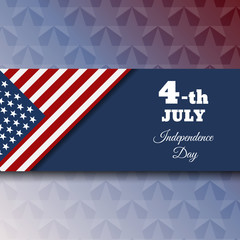 Fourth of july independence day for your design eps 10