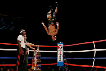 Boxing - WBA super-flyweight title - Kohei Kono of Japan v Luis Concepcion of Panama