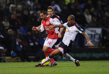 Bolton Wanderers v Arsenal Barclays Premier League