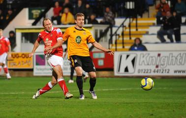 Cambridge United v Wrexham FA Cup First Round