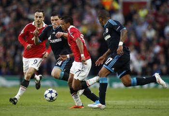 Manchester United v FC Schalke 04 UEFA Champions League Semi Final Second Leg