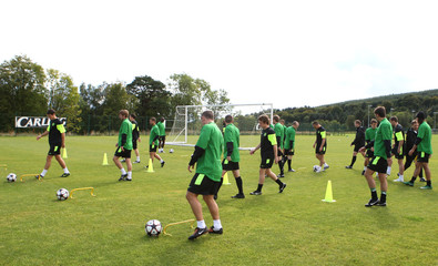 Celtic Training & Press Conference