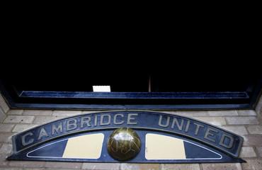 Cambridge United v Eastbourne Borough Blue Square Premier
