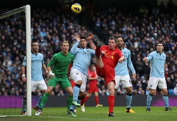 Manchester City v Liverpool - Barclays Premier League