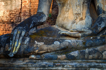 Wat Phra Si Rattana Mahathat - Chaliang at Si Satchanalai Historical Park, a UNESCO World Heritage Site in Thailand
