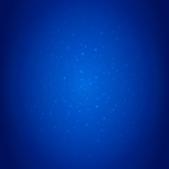 Blue deep sea background with sparkles and spangles. Underwater backdrop with soft gradient. Abstract shiny background with light effects. Business style design for banner or flyer template. EPS 10.