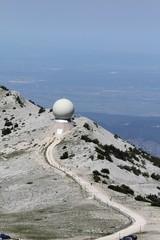 Le mont Ventoux dans le Vaucluse,région Provence Alpes, côte d'Azur