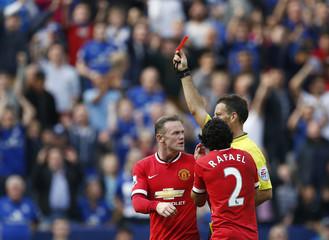 Leicester City v Manchester United - Barclays Premier League
