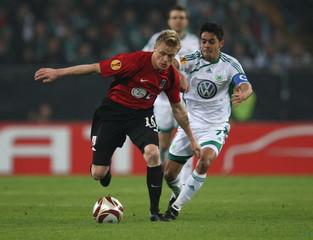 VFL Wolfsburg v Fulham UEFA Europa League Quarter Final Second Leg