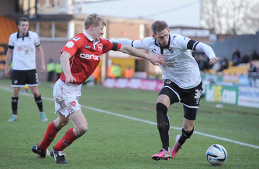 Port Vale v Morecambe - npower Football League Two