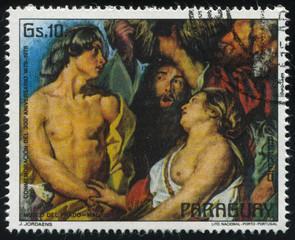 Meleagro with Atalanta by Jordaens