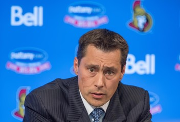 NHL: Ottawa Senators Press Conference