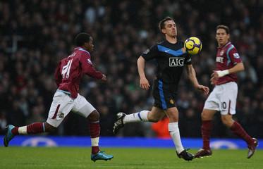 West Ham United v Manchester United Barclays Premier League