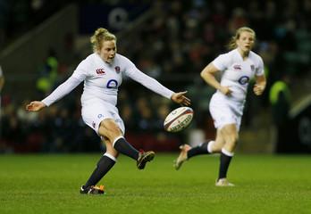 England v France RBS Women's Six Nations Championship 2013