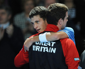 Great Britain v Tunisia Davis Cup by BNP Paribas - Europe/Africa Zone Group II - Round One