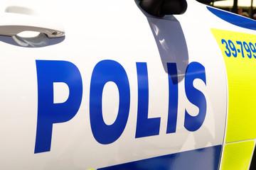 polizeifahrzeug polis schweden