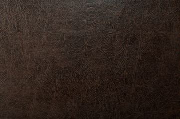 brown leather texture for background Wall mural